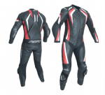 RST R-18 1 Piece Leather Suit Red